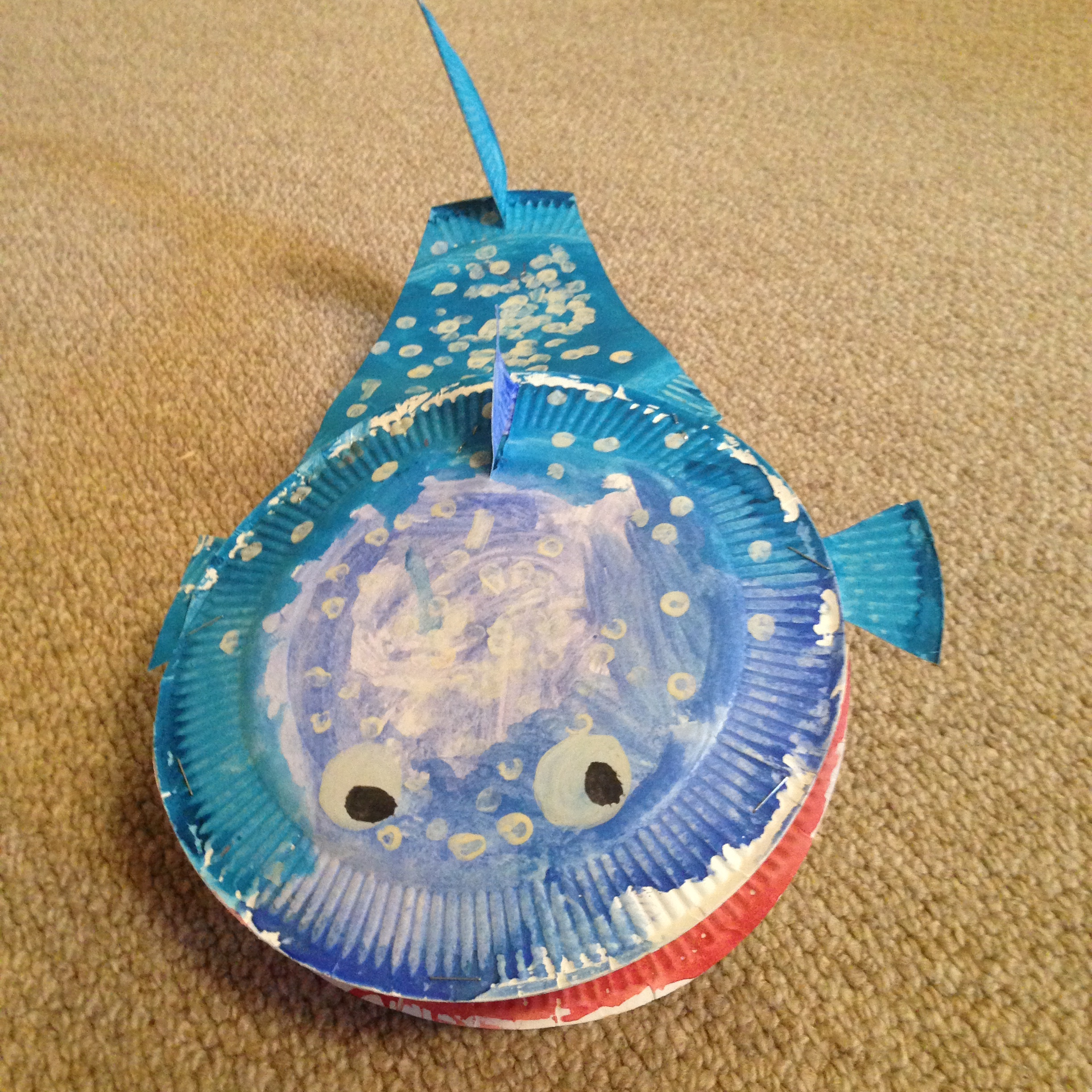 IMG_3551 & Paper plate crafts- Whale Shark | Somedays by C