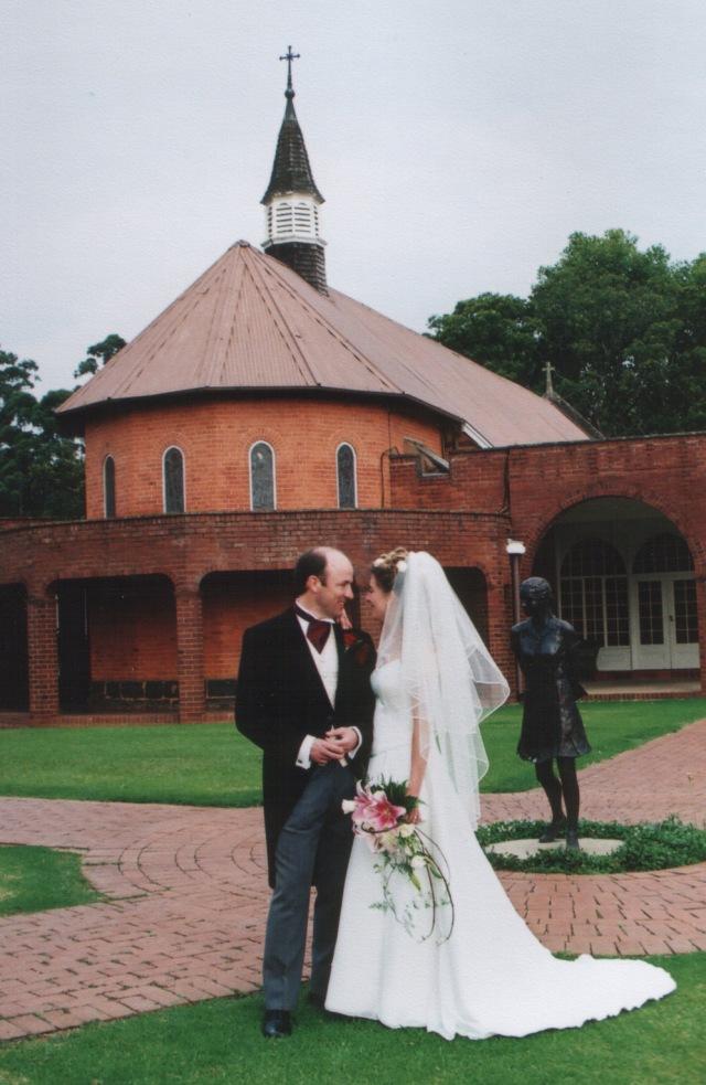 Bride groom church copy