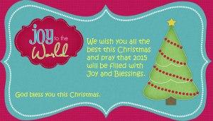 Christmas card 2014 blog