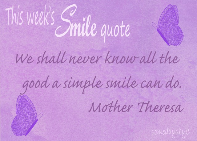 40 days smile quote 1