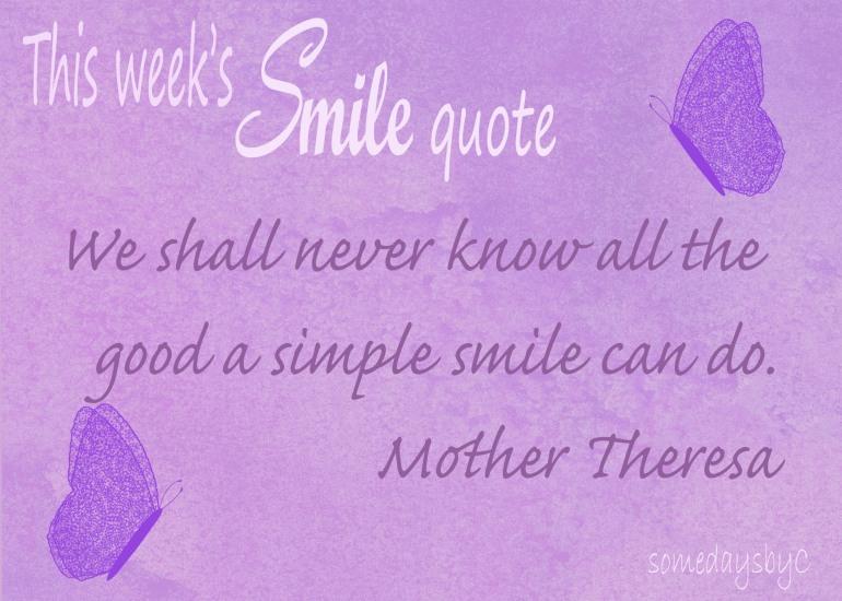 40 days smile quote 1