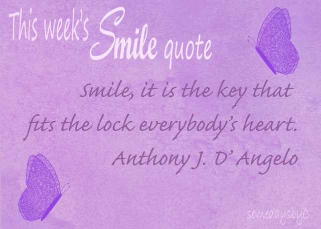 40 days smile quote 3
