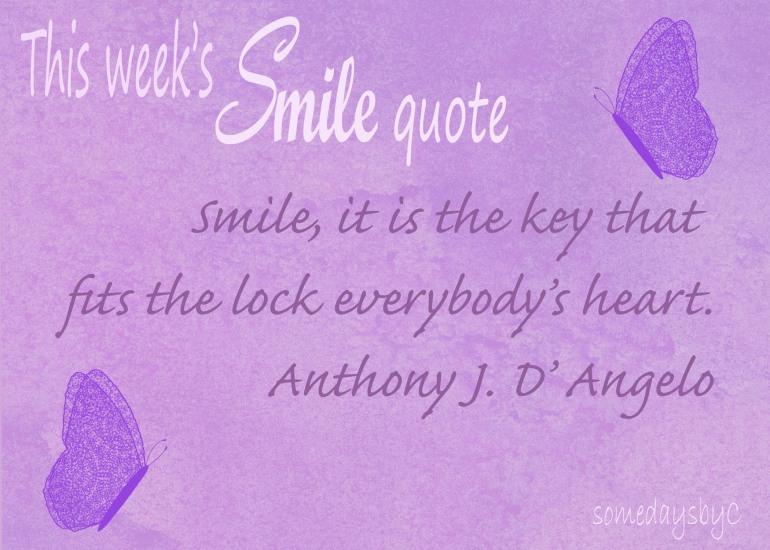 40 days smile quote 3