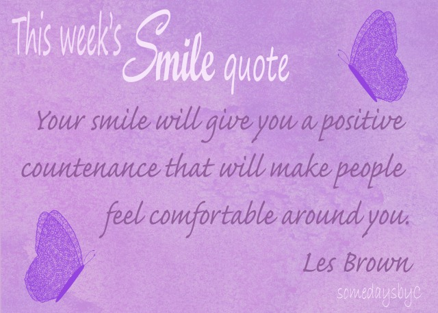 40 days smile quote 4