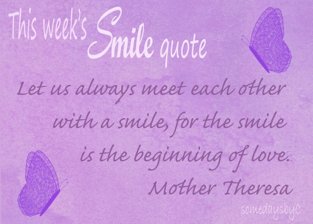 40 days smile quote 5