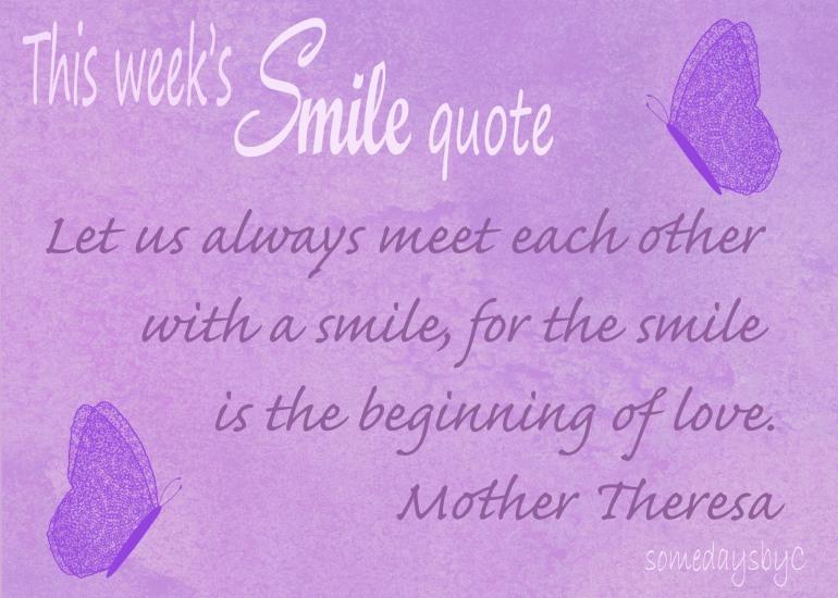 40 days smile quote 5