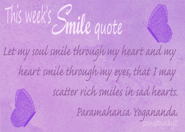 40 days smile quote 6