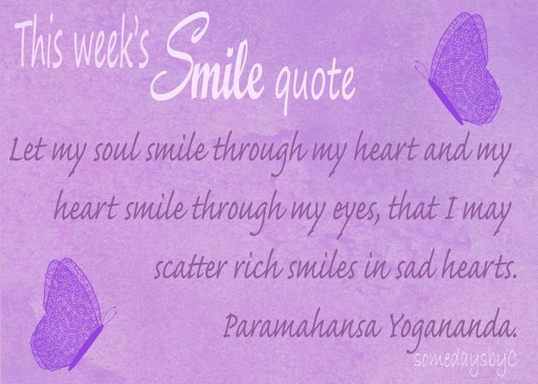 40 days smile quote 6