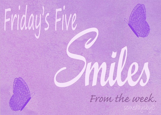 Fridays Five