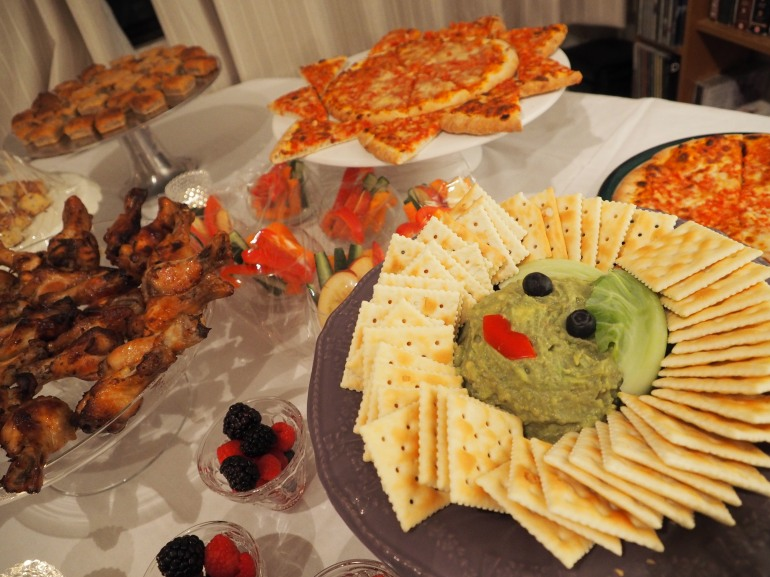 Spa Party Food