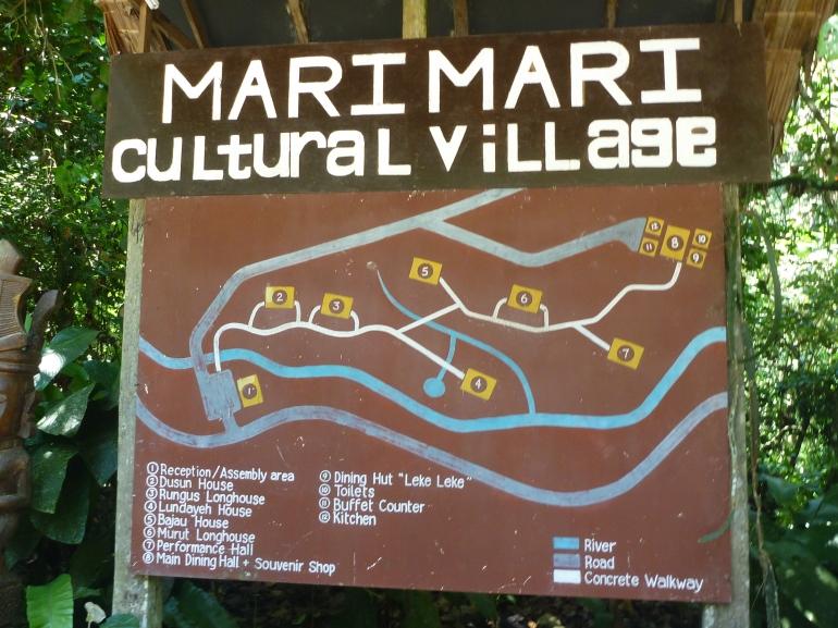 Mari Mari cultural village map