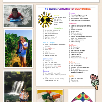 50 Summer Activities for Older Children Part 4